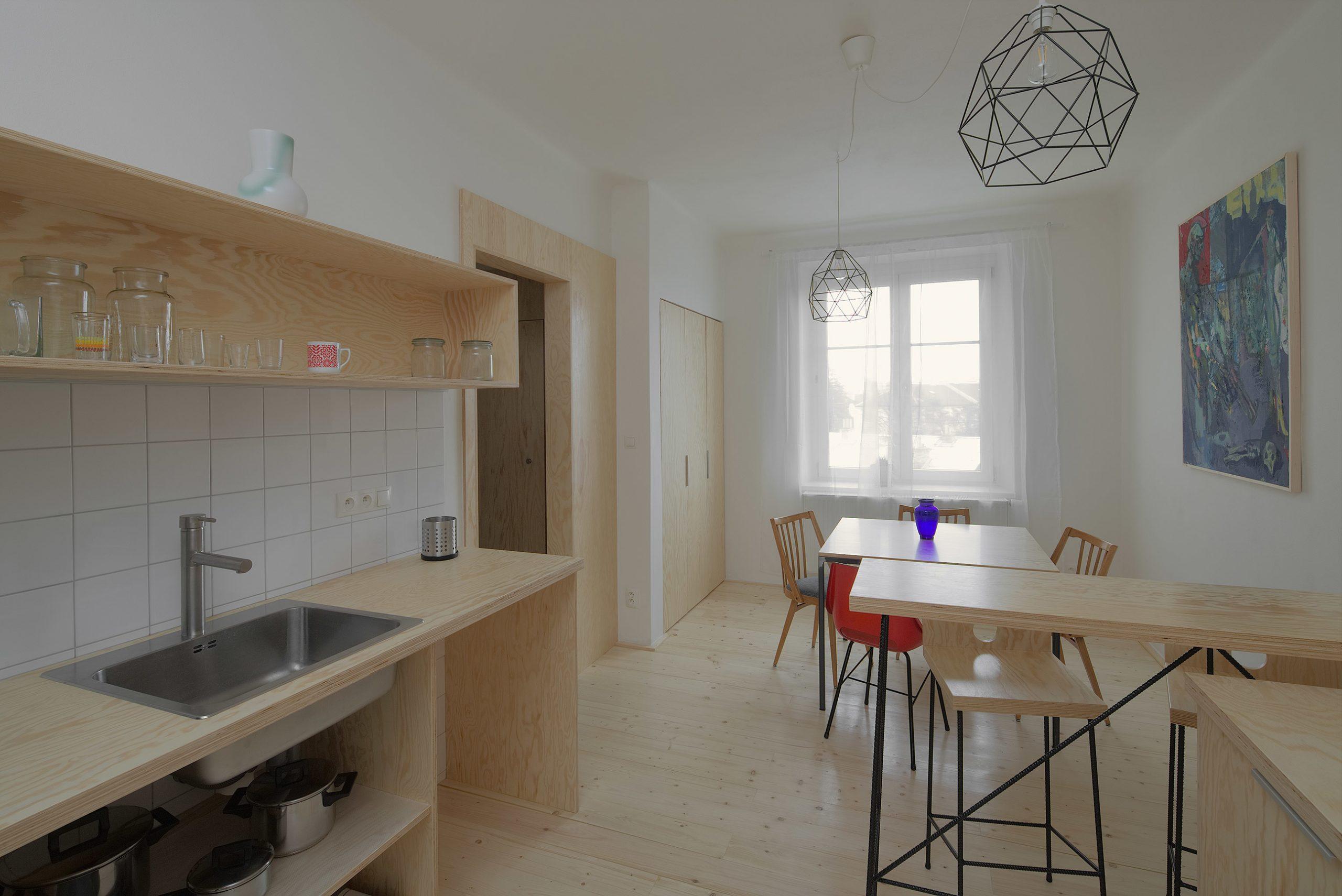 Rekonštrukcia bytu v Plzni