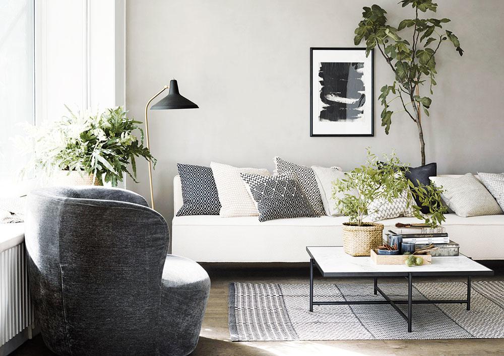 Interiérová výsadba: Zeleňou ku krajšiemu domovu