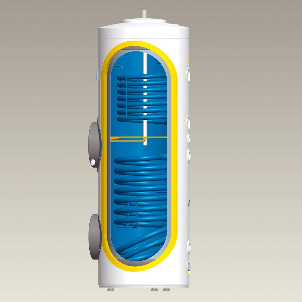 Solárne zásobníkové ohrievače vody