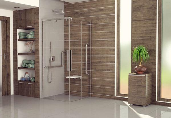 PUR LIGHT S – exkluzívne sprchové zástenys posuvnými dverami