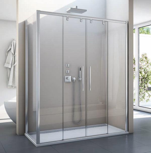 PUR LIGHT S – exkluzívne sprchové zásteny s posuvnými dverami