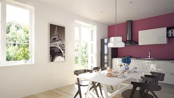 Elektrické sálavé panely dáte na stenu aj na strop