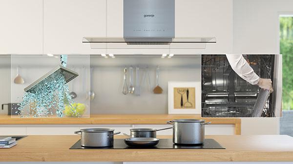 Nová generácia digestorov gorenje pre čistý vzduch v kuchyni