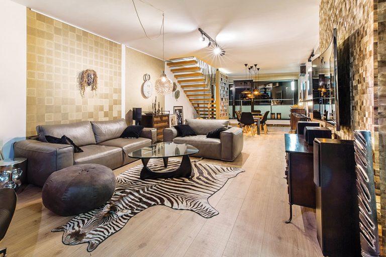 Ako v obývačke kombinovať africké motívy