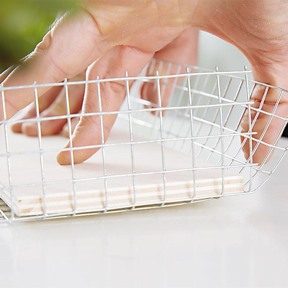 3. REZERVA Pri pletive necháme pár centimetrov navyše, budeme ich potrebovať pri pripevňovaní do rámikov.