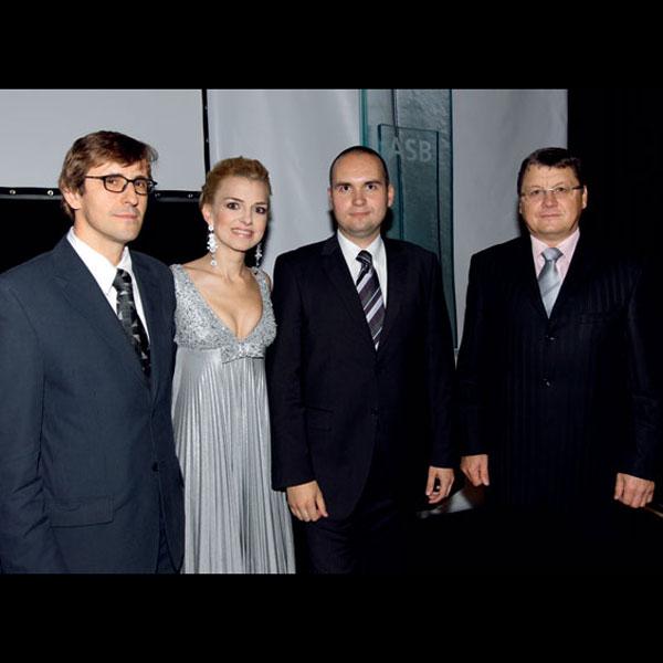 Vyhlásenie ocenení ASB GALA večer 2009
