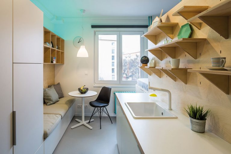 Najmenší byt v Bratislave? Miniatúrna garsónka s rozlohou šestnásť metrov štvorcových!