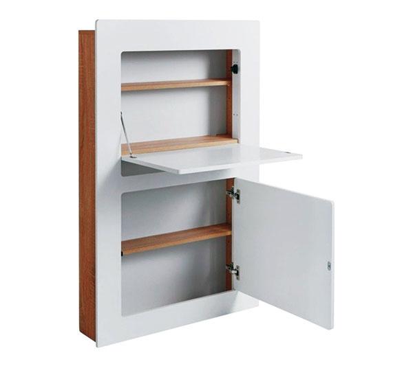 Skrinka a či stolík? Aj takýto multifunkčný nábytok sa hodí do malého priestoru. Keď dopracujete dvierka, stačí len pozatvárať. www.bonami.sk