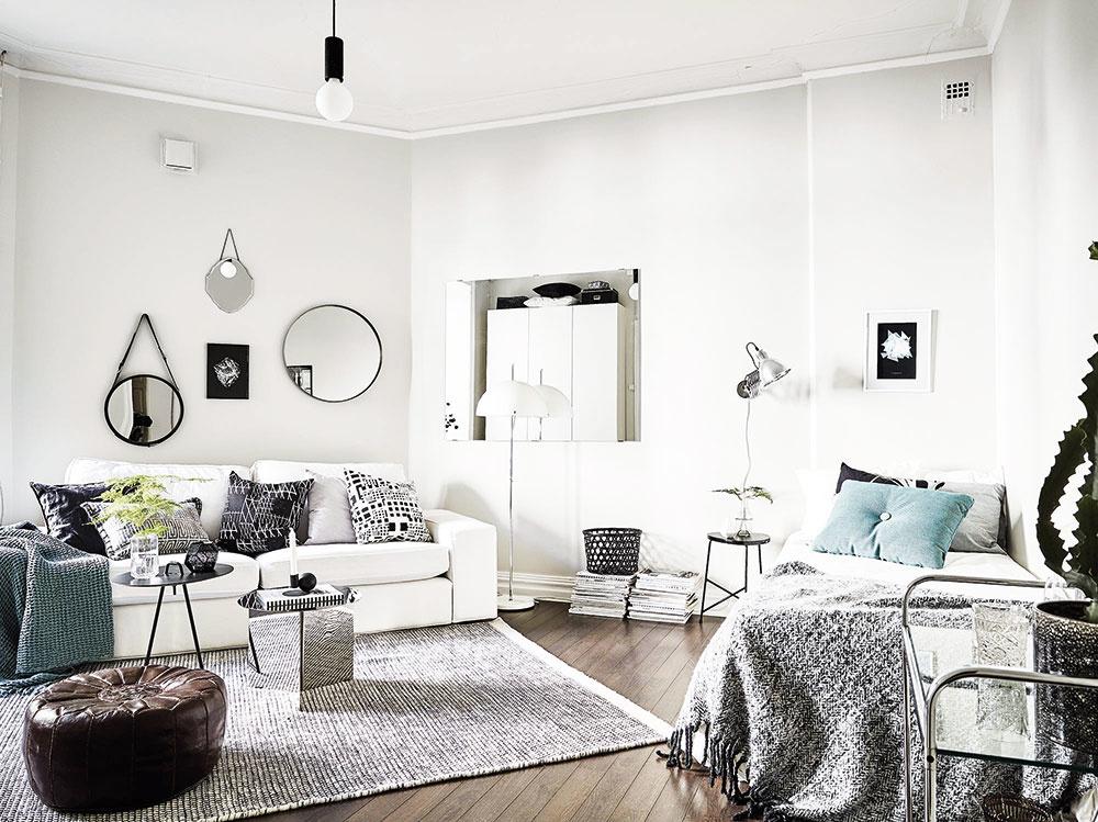 Zrkadlá čarujú. Zrkadlové plochy priestor nielen zväčšujú a presvetľujú, ale dokážu kúzliť. Ak potrebujete zakryť nábytok či vstavanú skriňu, postavte ich či zaveste na čelnú stranu, a tak sa stanú neviditeľnými.