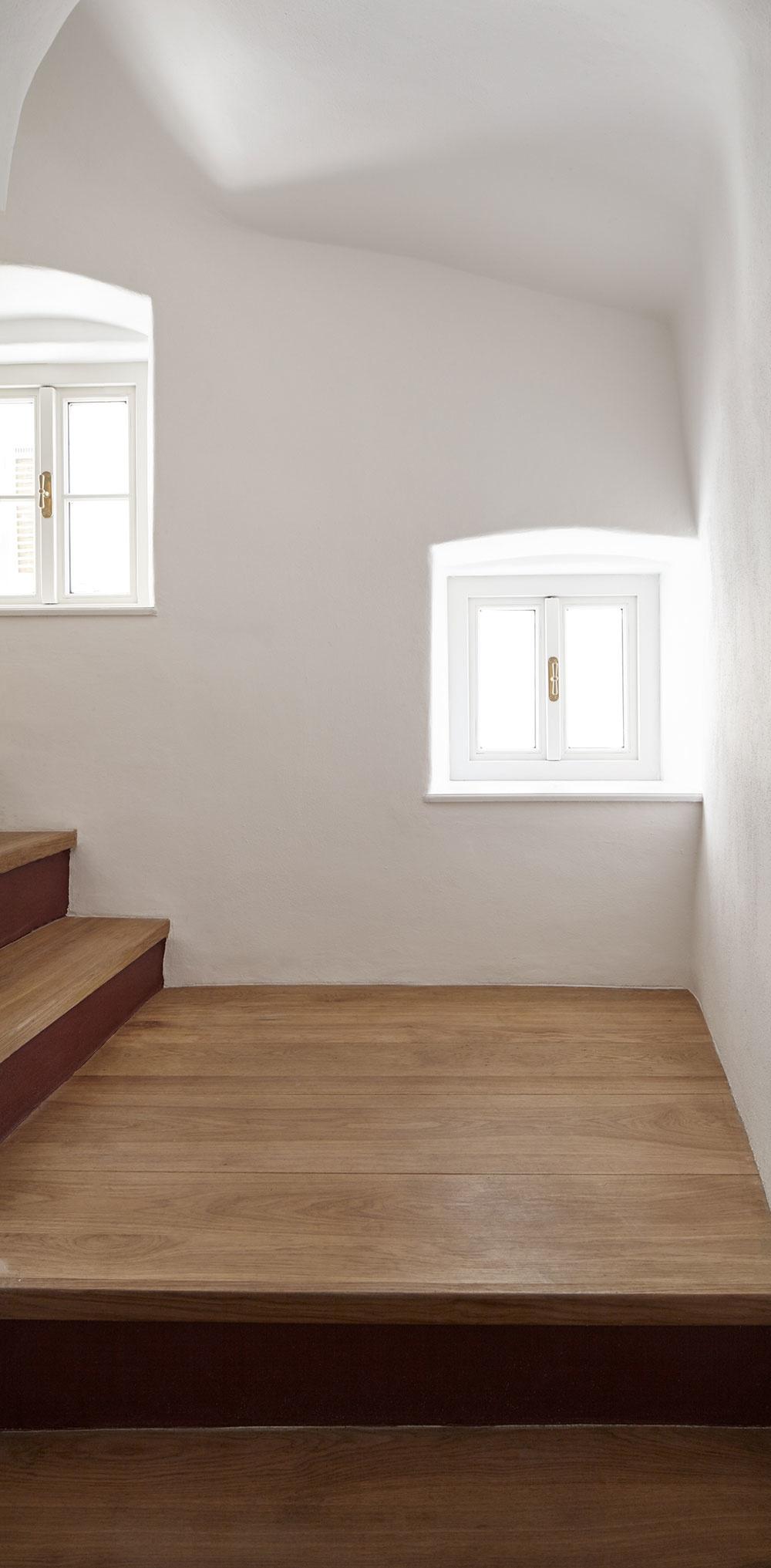 Dom v Mikulove, v ktorom nie je ani jedna stena rovná