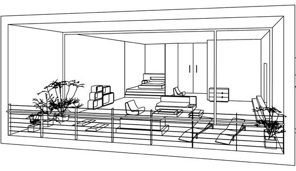 Škola interiérového dizajnu 4. - Jasné pravidlá vizualizácie interiéru