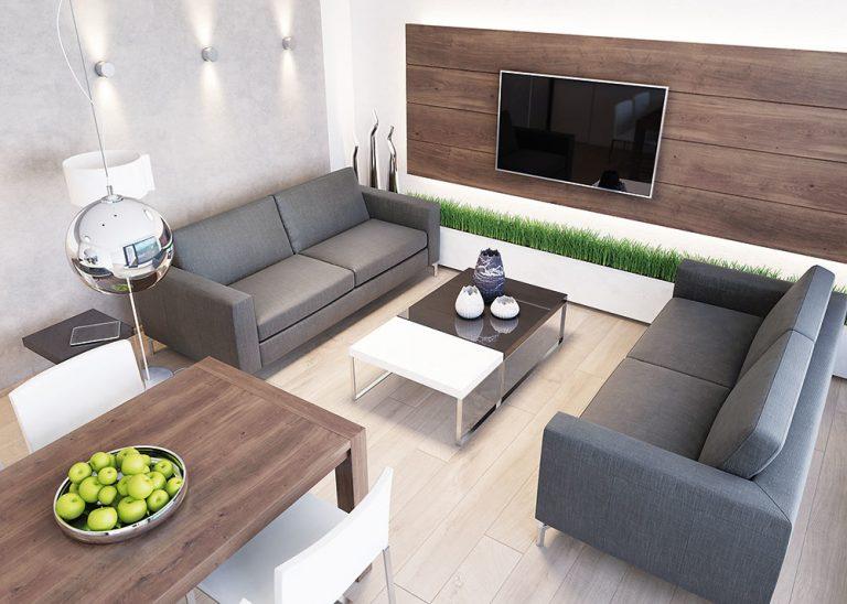Dizajnér radí: Ako funkčne zariadiť dennú časť bytu