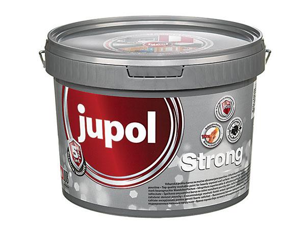 UB Jupol Strong Táto farba sa vyznačuje 10-krát väčšou odolnosťou proti mechanickému poškodeniu farebného filmu, ako aj väčšou umývateľnosťou v porovnaní s bežnými vnútornými maliarskymi farbami. Umožňuje ľahšie čistenie farebného filmu štandardnými domácimi čistiacimi prostriedkami. Ľahko z nej vyčistíte škvrny od kávy, vína, čaju, džúsu, kečupu, stopy mastných rúk, krému na topánky či blata, ale aj detské farbičky. www.jub.sk