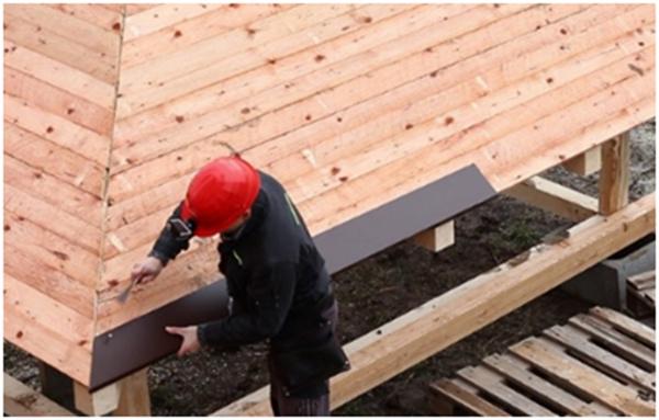Rekonštrukcia eternitovej strechy strešnými šindľami IKO!