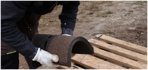 Príprava inštalácie hrebenáčov