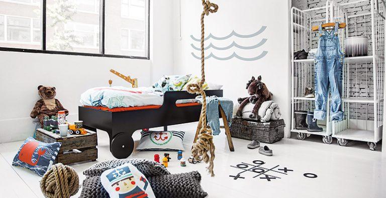 Detská izba v námorníckom štýle