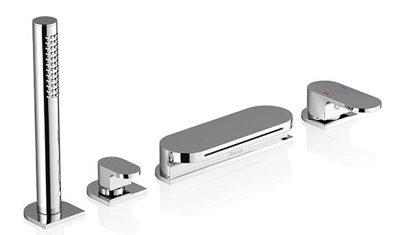 Vaňová batéria – vodopád, model CR 025.00, cena 319 €, záruka 5 rokov