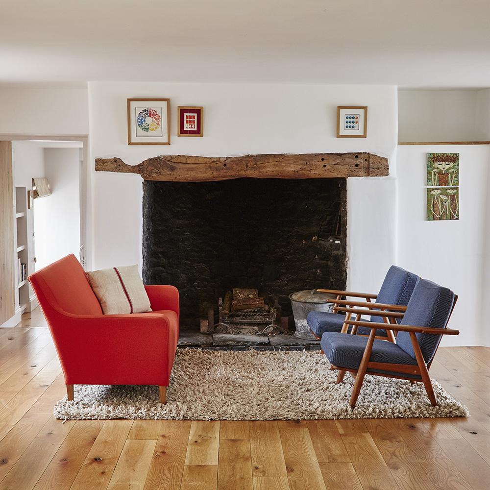 House story of Conrad Allen of Venn Farm, Devon for 25 Beautiful Homes