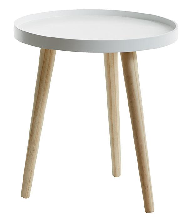 Servírovací stolík Bakkebjerg, priemer 40 cm, výška 43 cm, 24,99 €, Jysk