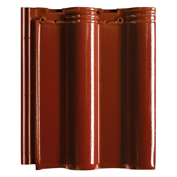 Všestranná veľkoformátová škridla MAXIMA znižuje náklady na zhotovenie strechy a vyniká svojou hospodárnosťou.