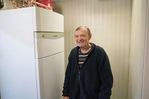 Meteorológ Ake má doma tepelné čerpadlo flexoCOMPACT exclusive. zdroj: Vaillan