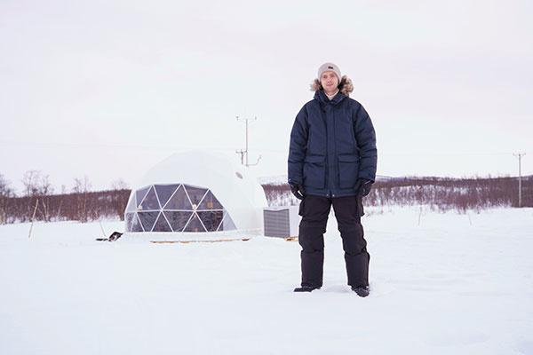 Na meteorologickú stanicu v Naimakke chodí viac návštev než kedysi. zdroj: Vaillant