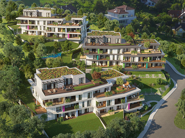 Začína výstavba rezidenčných bytov Gansberg Koliba