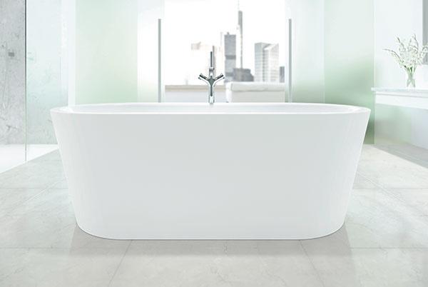 Nový solitér pre veľké kúpeľne