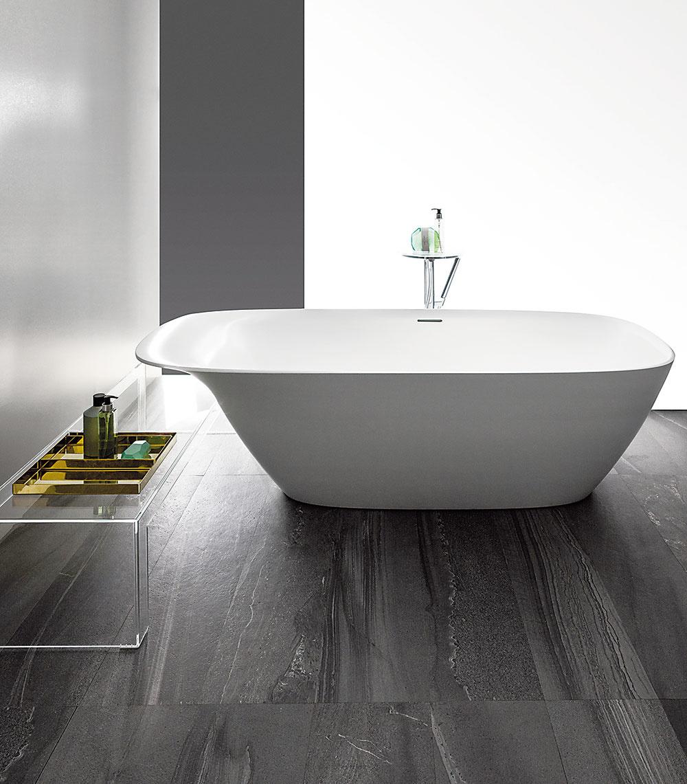 Vaňu z dizajnovej série Ino s rozmermi 180 × 80 cm navrhol pre značku Laufen francúzsky dizajnér Toan Nguyen. Jej súčasťou je integrovaný podhlavník, ktorý zvyšuje pohodlie pri kúpaní. Jednotný ráz kúpeľne docielite, ak použijete aj ďalšiu sanitu z rovnakej kolekcie.