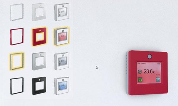 Obľúbený dotykový termostat teraz aj vo farbe