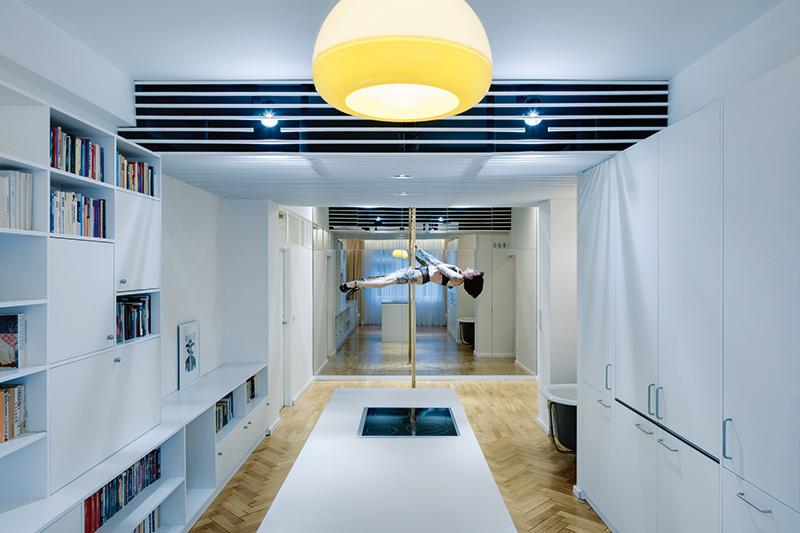 Tancujúci byt: Malý priestor s veľkým potenciálom
