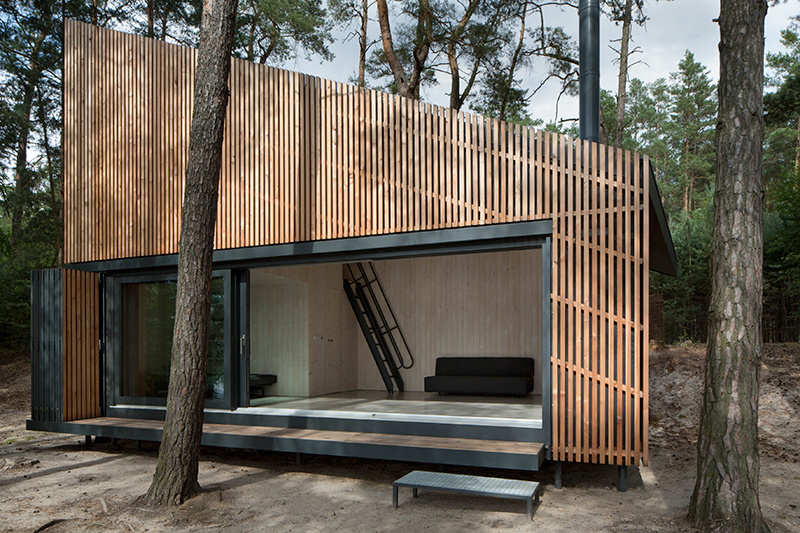 Aj chata môže mať originálnu, a pritom veľmi praktickú podobu