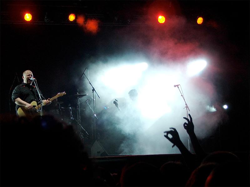 The Pixies na festivale Pohoda v roku 2006.