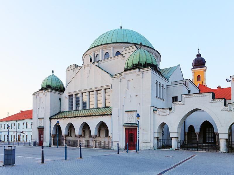 Židovská synagóga v Trenčíne.