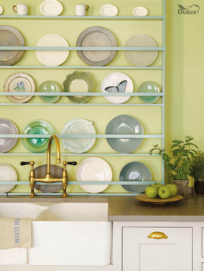 Keramiku a porcelán zásadne neskrývame. (foto: Dulux)