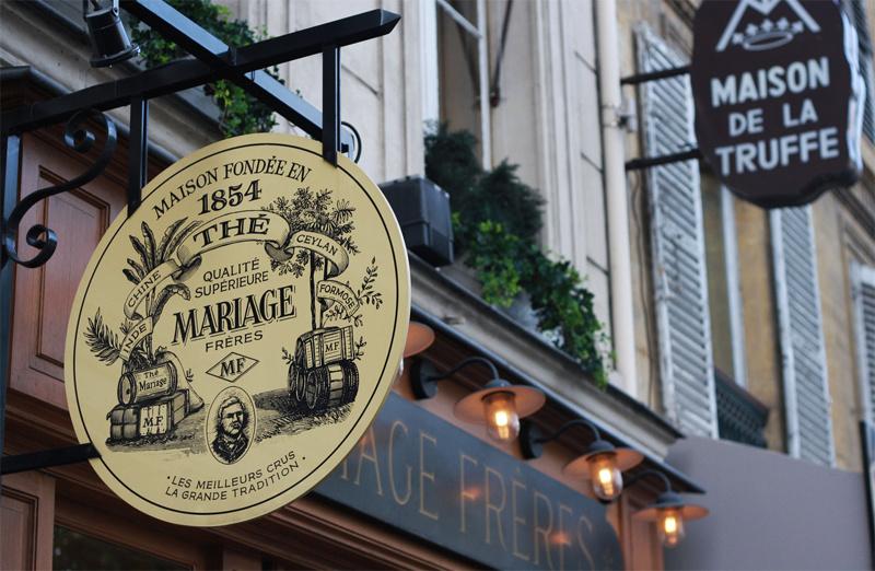 Čaje MARRIAGE FRÉRES, pôžitok z luxusu