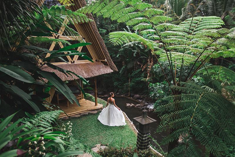 To je nápad: Bambusový domček ako skvelý zážitok!