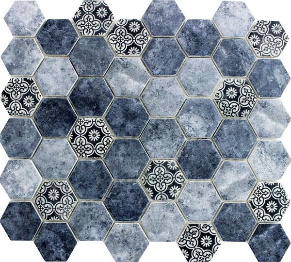 Mozaikový obklad Pachwork, set 32,4/28 cm, 10,99 €/set, Siko