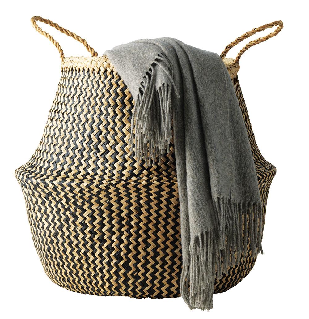 Kôš FLÅDIS z morskej trávy, 8,99 €, IKEA