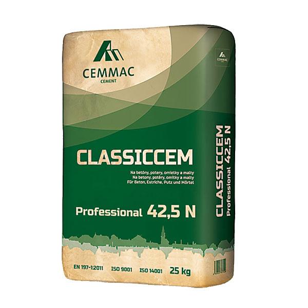 Pri betonáži väčších spevnených plôch predstavuje ideálnu voľbu nový cement CLASSICCEM 42,5 N od spoločnosti CEMMAC. Vďaka svojej pevnosti a stabilnej kvalite je vhodný aj na výrobu vysokozaťažovaného a namáhaného betónu. Vyznačuje sa výbornou spracovateľnosťou, možnosťou dlhšej manipulácie pri ukladaní betónu, mimoriadnou plasticitou a tiež vysokou koncovou pevnosťou betónu. www.cemmac.sk