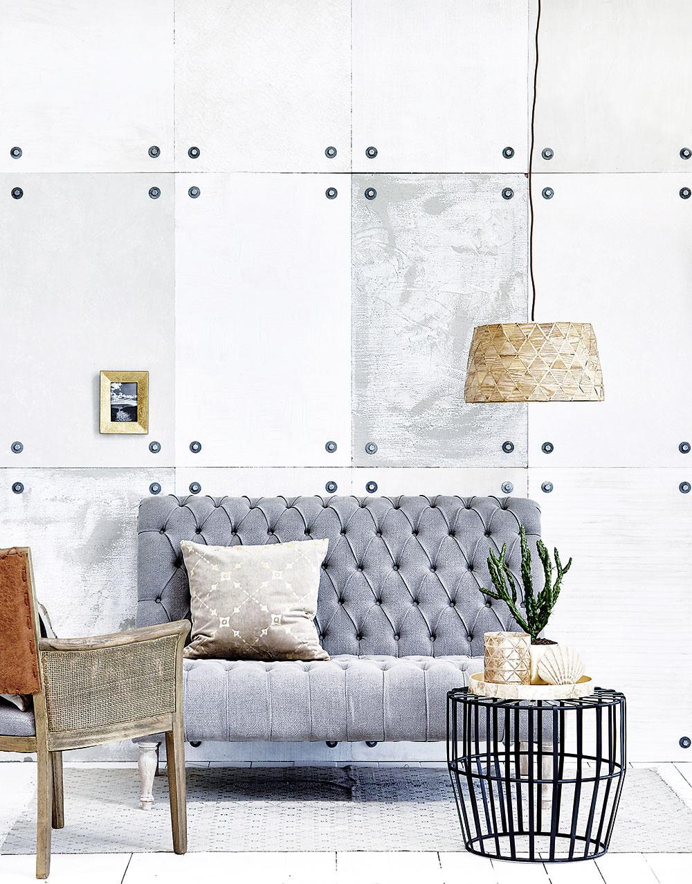 Vankúš Fabianne Square od značky Lene Bjerre, 50 % ľan, 50 % bavlna, 50 × 50 cm, 70,39 €, www.houseology.com
