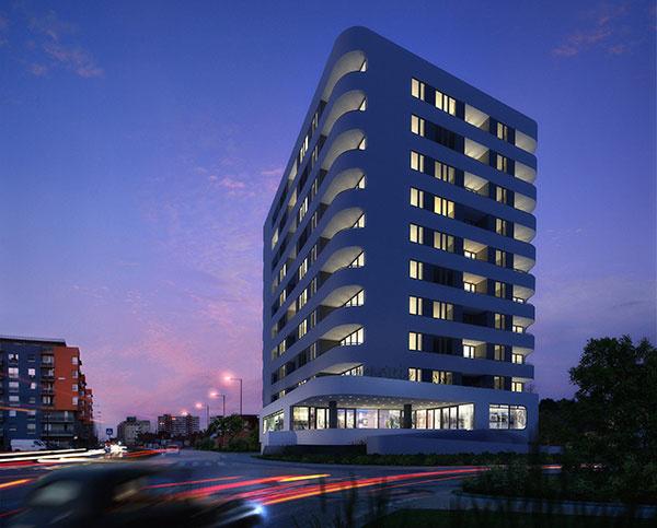 Hrubá stavba exkluzívneho projektu Mendelsohn je hotová, vedľajší Valerian už 64 bytov skolaudoval