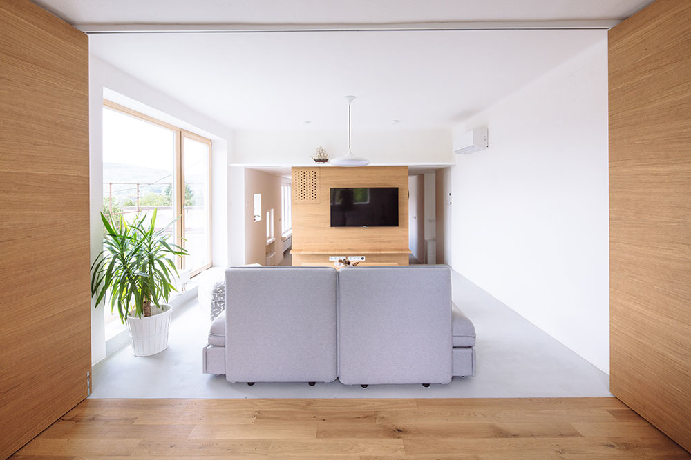 Rekonštrukcia bytu, ktorý sa mení podľa potrieb majiteľov