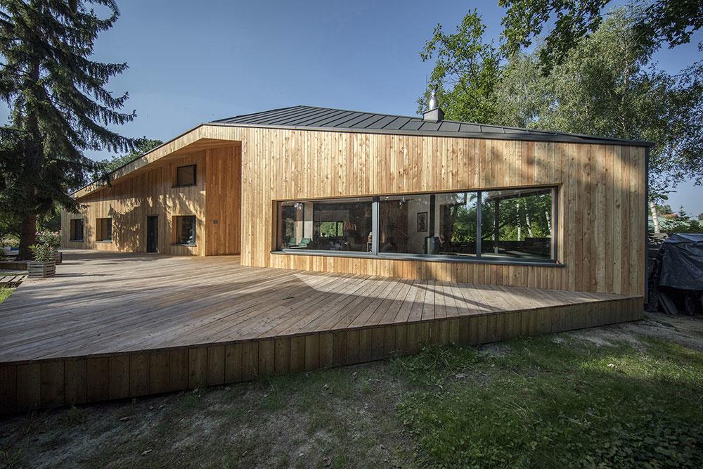 Majitelia tohto domu trvali na originalite: Výsledkom je vzhľad ako bojová loď