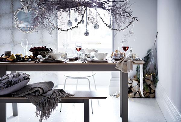 Ako vyčarovať v jedálni vianočnú atmosféru