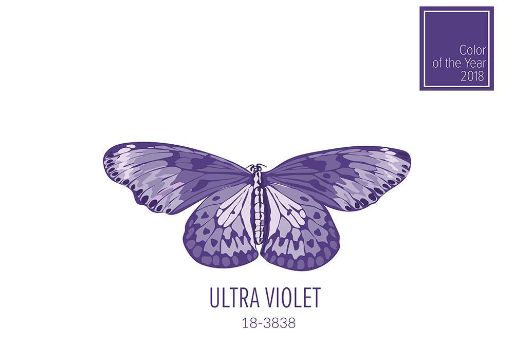 Poznáte farbu roka 2018? Ultra Violet sa vkradne sa aj do domácností!