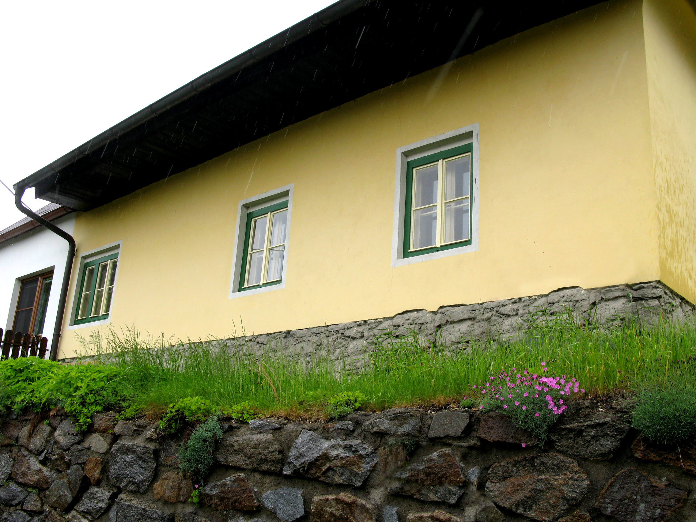 Rekonštrukcia obytnej časti vidieckeho domu
