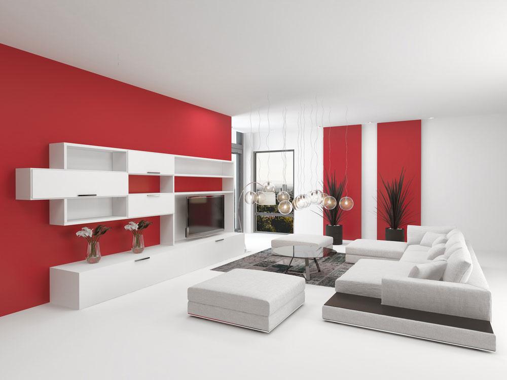 Aké farby poletia v interiéri v roku 2018?