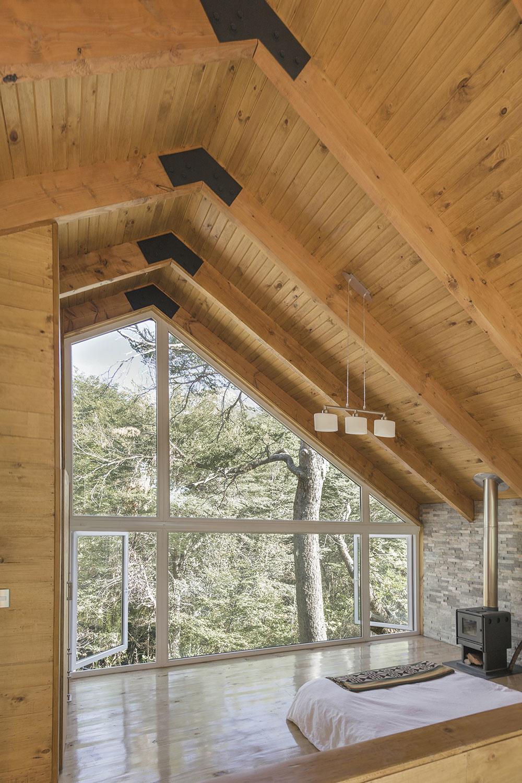 Čarovná chata v prírode: Krásne výhľady zo spálne, teplo a pokoj