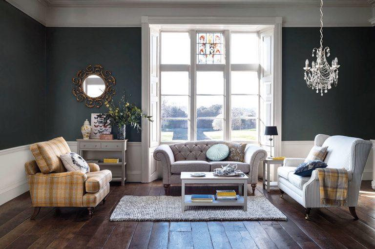 Prepych a elegancia: Obývačka v štýle glamour